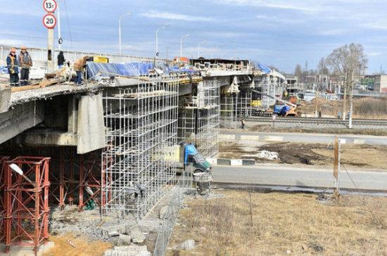 Проезд по Добрынинскому путепроводу в Ярославле откроют в апреле