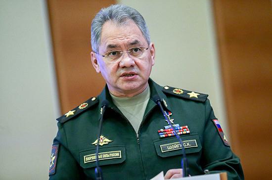 Шойгу: Минобороны РФ создало оперативный штаб из-за угрозы коронавируса