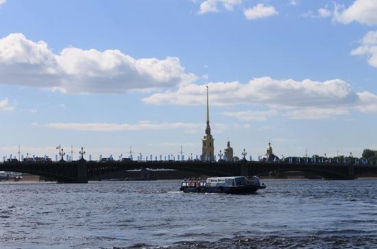 Сезон навигации начнётся в Санкт-Петербурге в середине апреля