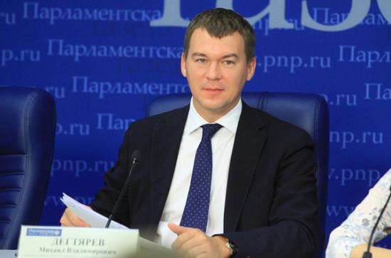 Дегтярев: в России нужна двухуровневая система контроля за спортивными агентами