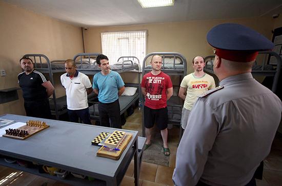 В МВД прорабатывают варианты депортации содержащихся в спецучреждениях иностранцев