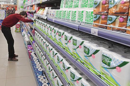 Митин рассказал, как следят за наличием необходимых продуктов в регионах