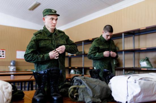 Шойгу рассказал о бытовых условиях в армии
