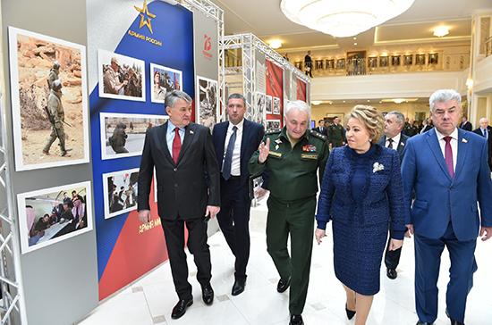Сенаторы внесли данные об участниках Великой Отечественной войны в мультимедийный музей Минобороны