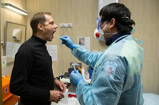 Сенаторов проверили на коронавирус