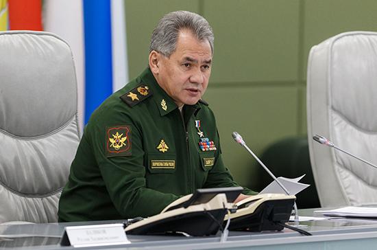 Шойгу рассказал, что в российской армии нет заболевших коронавирусом