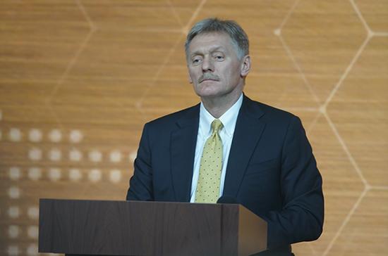 Песков подтвердил случай заражения COVID-19 в Администрации президента