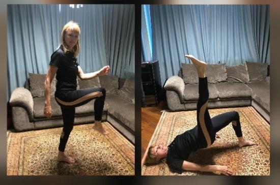 Эксклюзив «Парламентской газеты»: чемпионский фитнес от Светланы Журовой