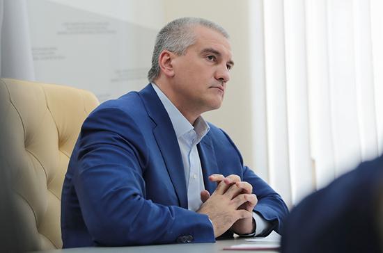Аксёнов призвал возбудить уголовное дело из-за случая заражения COVID-19 в Крыму
