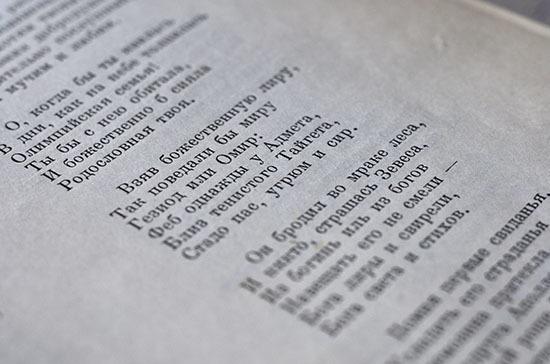 Для жителей Санкт-Петербурга организовали поэтический онлайн-конкурс