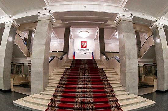 Комитет Госдумы поддержал создание комиссии по утверждению трат бюджета на борьбу с пандемией