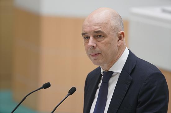 Силуанов: регионам отсрочат выплаты по бюджетным кредитам