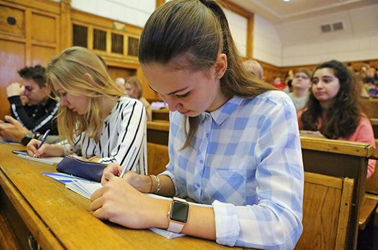 Минобрнауки не планирует отменять экзамены в вузах из-за коронавируса