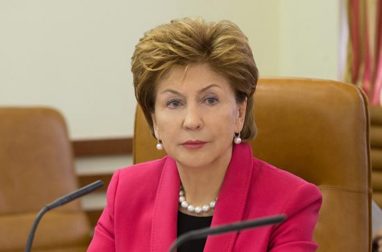 Карелова рассказала о новых мерах социальной поддержки граждан в период пандемии коронавируса