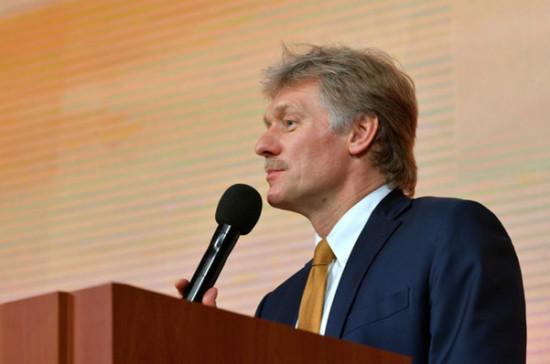 Песков: в Кремле нет информации о просьбах Минска к Москве помочь в борьбе с COVID-19