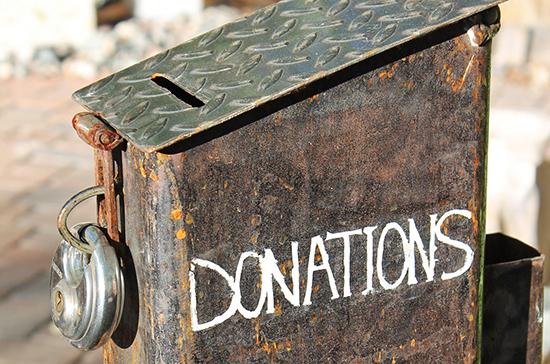 В России установят требования к ящикам для пожертвований