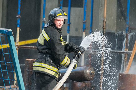 Пожарным в регионах предложили дать право на досрочную пенсию