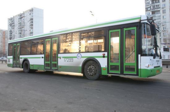 С начала марта число пассажиров в подмосковных автобусах сократилось на 83%