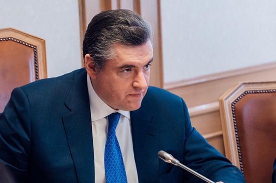 Слуцкий назвал блокировку США и ЕС резолюции России об отказе от санкций «коронаэгоизмом»