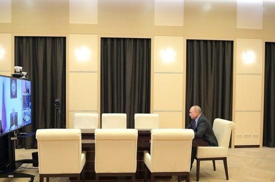 Путин обсудил с Советом Безопасности ситуацию на мировом рынке энергетики