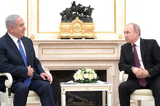 Нетаньяху и Путин обсудили возвращение россиян и израильтян на родину
