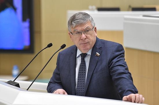 Рязанский рассказал, как изменился Совет Федерации при Матвиенко