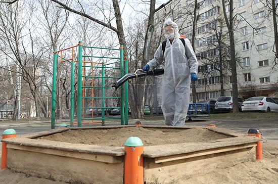 В Ростове-на-Дону заканчивается дезинфекция первых городских кварталов