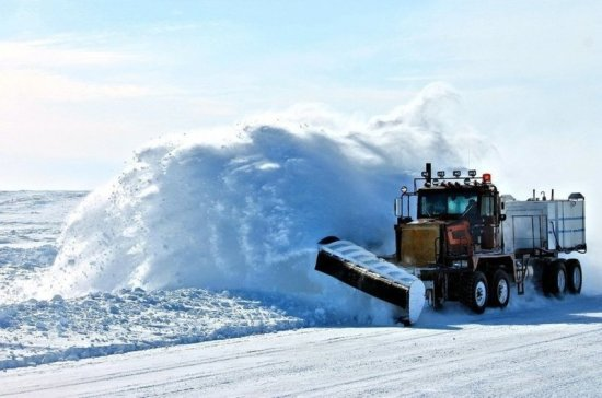 Ледовые переправы в Югре закрыли из-за тёплой погоды