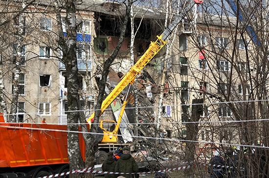 В Орехово-Зуеве начали восстанавливать разрушенный взрывом газа дом
