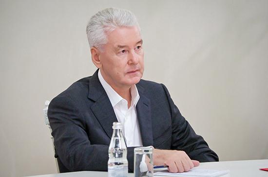 Мэр Москвы заявил о необходимости сохранить экономику города в условиях пандемии