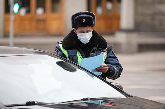 На всех въездах в Москву организовано дежурство полиции