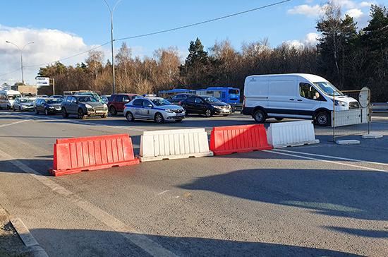 СМИ: ГИБДД ограничила въезд в Москву автомобилей с региональными номерами