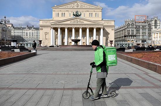 Путин поручил рассмотреть вопрос поддержки сервисов доставки еды