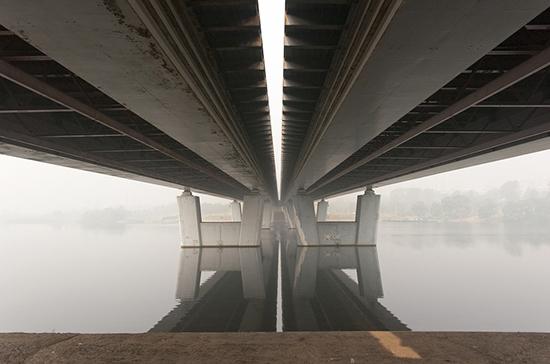 В Тюменской области из-за паводка перекрыли девять мостов