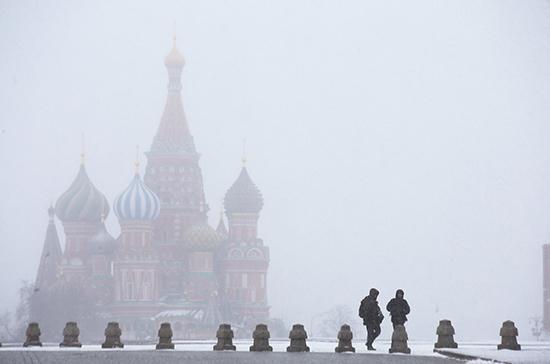 Синоптики предупредили москвичей о снеге