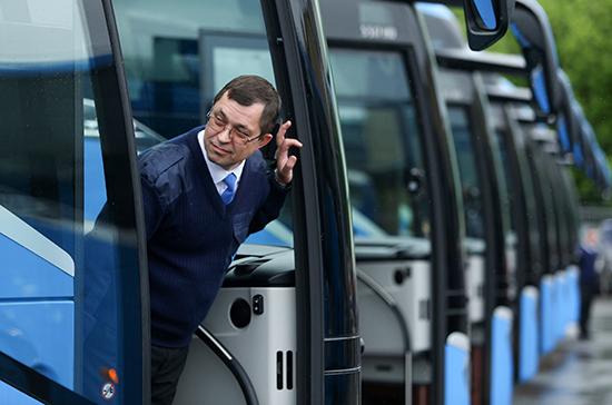 Оснащение автобусов ГЛОНАСС предложили перенести на 2021 год