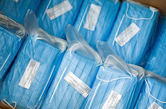Узбекистан передал России медицинские маски в качестве помощи в борьбе с коронавирусом