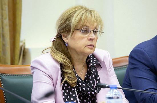 Памфилова считает, что пока рано говорить о дате голосования по Конституции