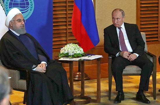 Путин и Роухани договорились о совместных действиях по борьбе с COVID-19