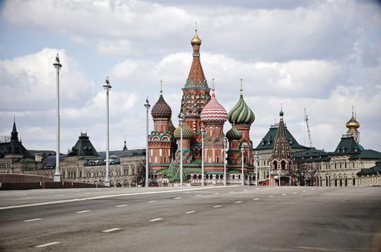 Москву не будут украшать к 1 мая