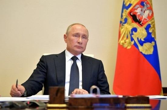 Путин: страна отпразднует 9 мая в режиме самоизоляции