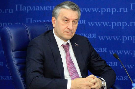 Депутат поддержал идею запустить программу общественных работ