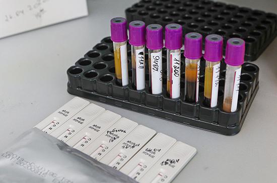 В России разработали тест-систему на антитела в плазме