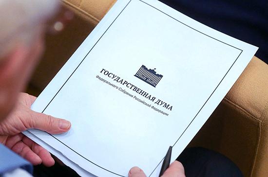 Депутаты отправят 100 предложений для Мишустина