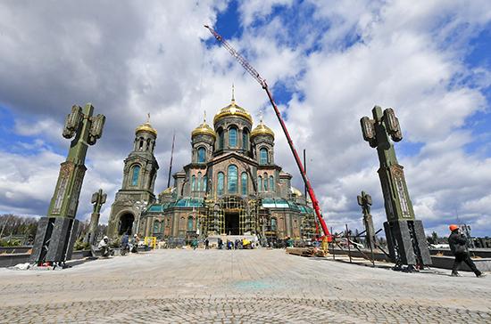 Открытие главного храма Вооружённых сил перенесли из-за пандемии