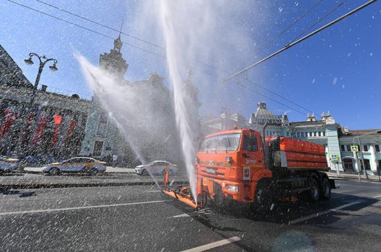 В Москве началась масштабная дезинфекция