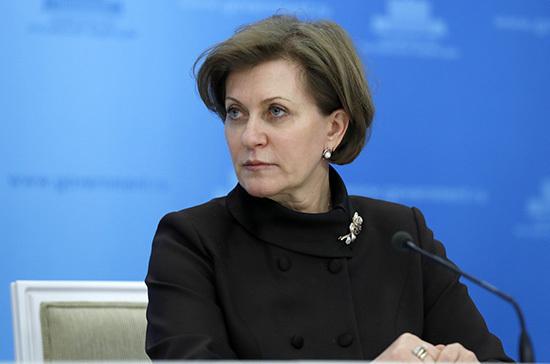 Попова: в России много свободных мест для пациентов с COVID-19