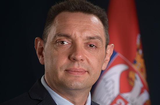 Министр обороны Сербии поблагодарил российских военных за помощь в борьбе с коронавирусом