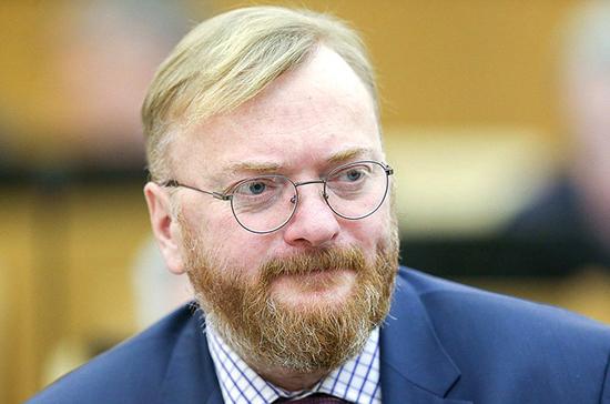 Милонов рассказал о необходимости поддержки предприятий общепита
