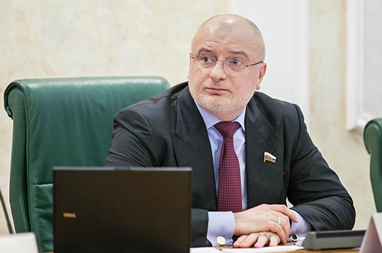 Клишас: защита жизни и здоровья россиян является безусловным приоритетом политики государства
